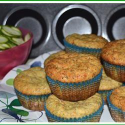 Savory Zucchini Muffins Milky