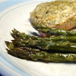Parchment Salmon Packages with Asparagus Lizzie Mac