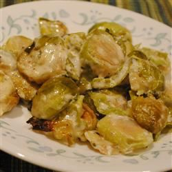Creamy Parmesan Brussels Sprouts Pam Ziegler Lutz