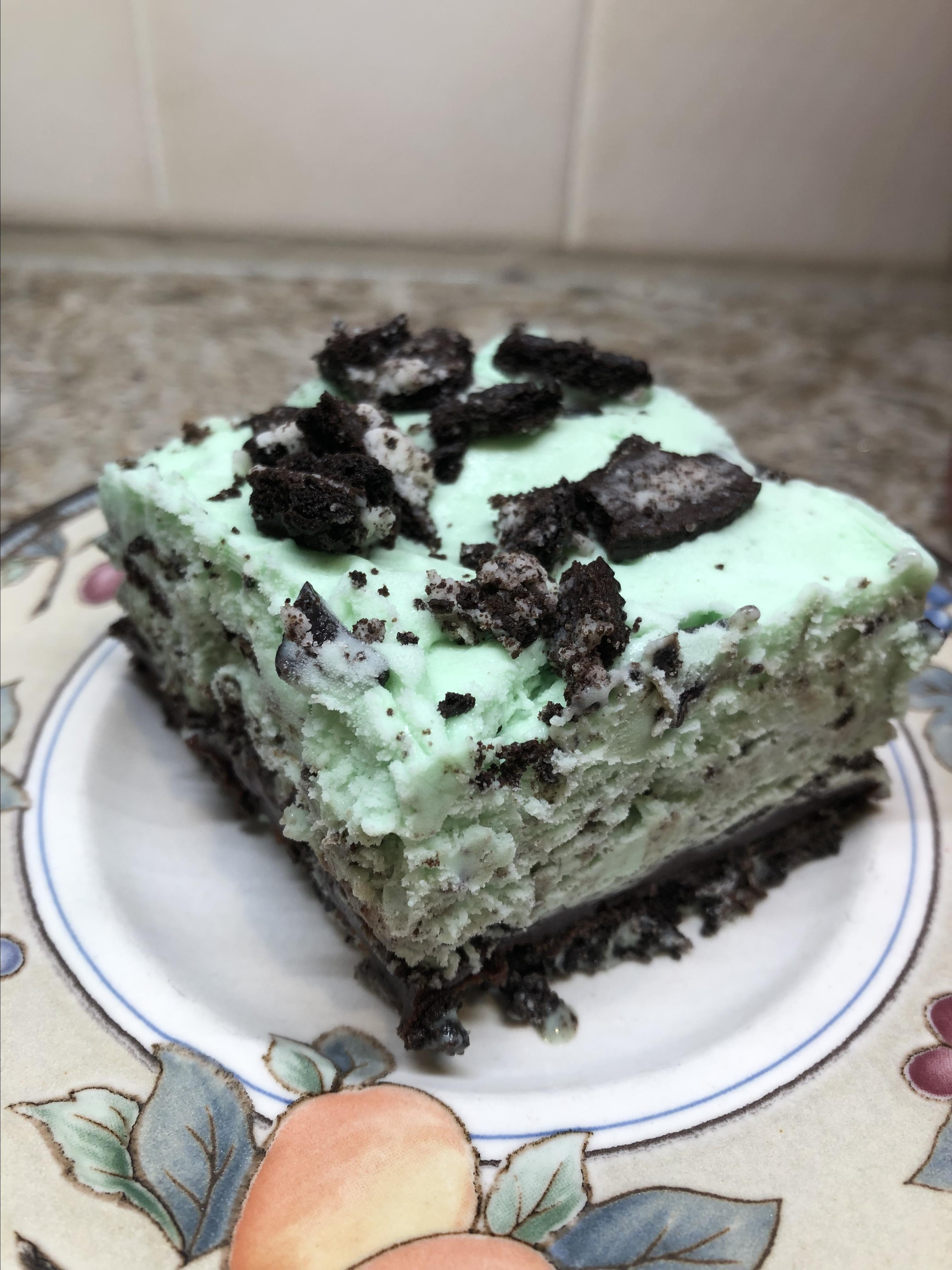 Cookies and Peppermint Ice Cream Cake Julie Petersen
