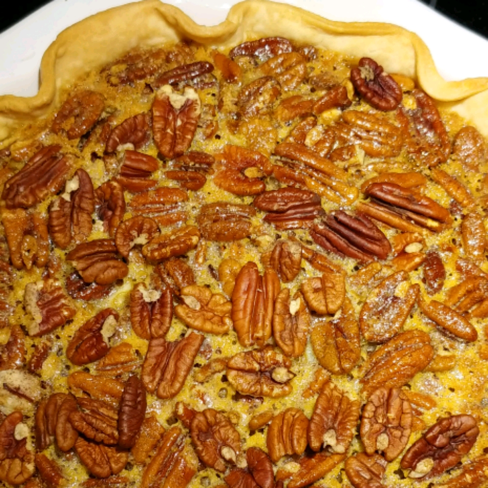 Favorite Bourbon Pecan Pie