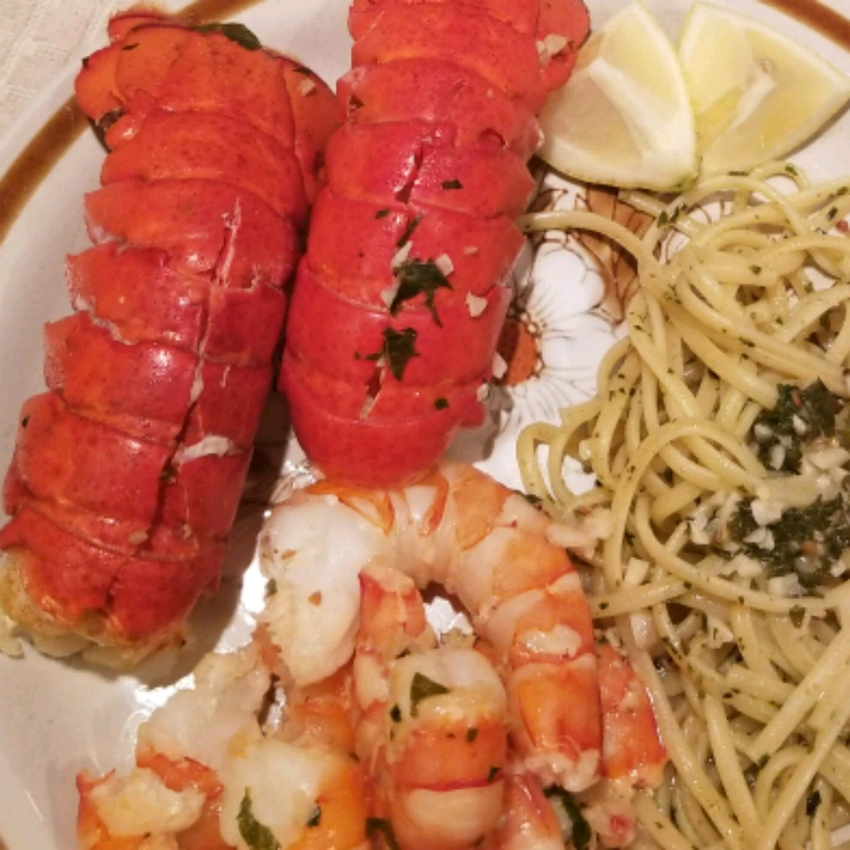 Orange Lobster Tail Adriana Calderone
