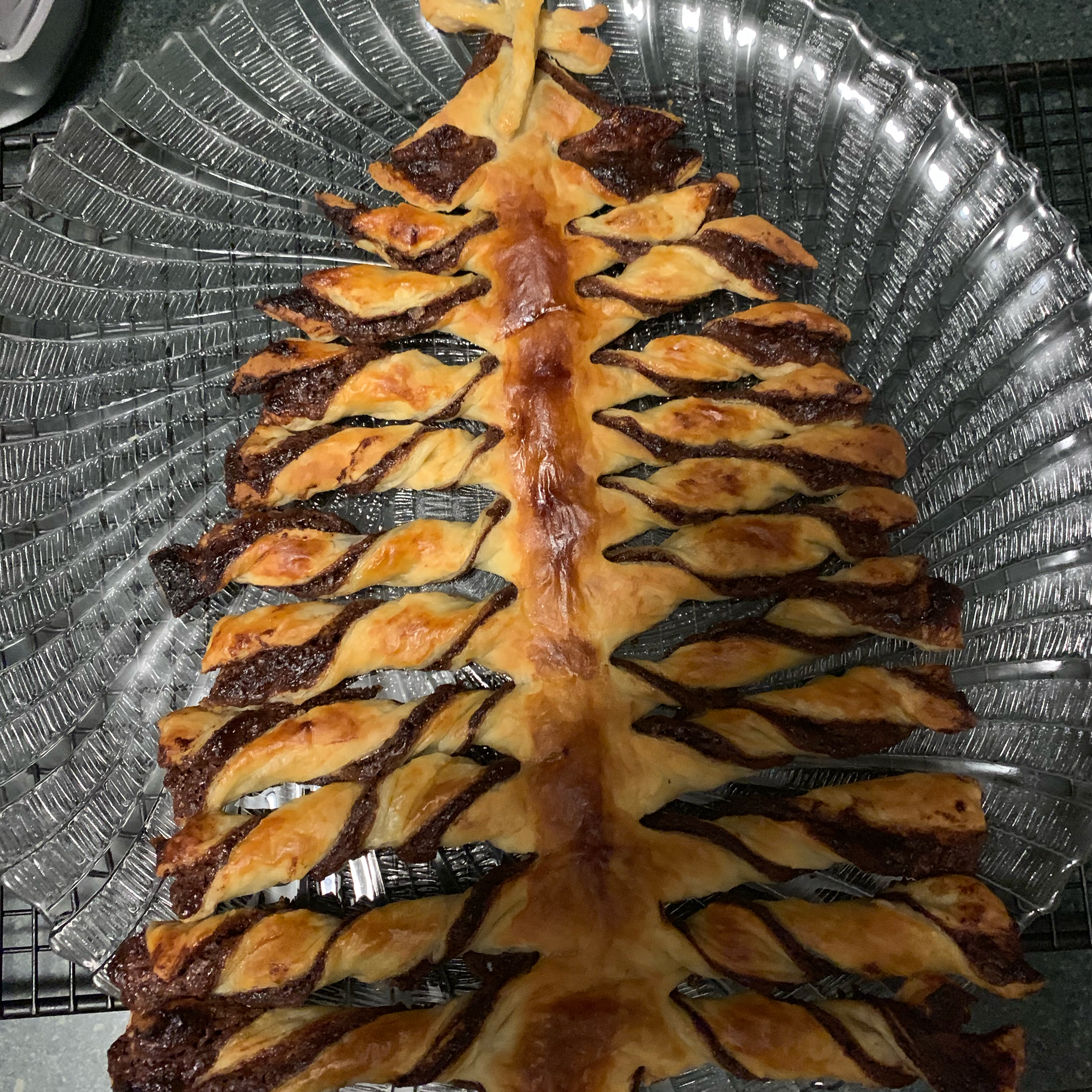 Nutella® Pastry Christmas Tree cppolar