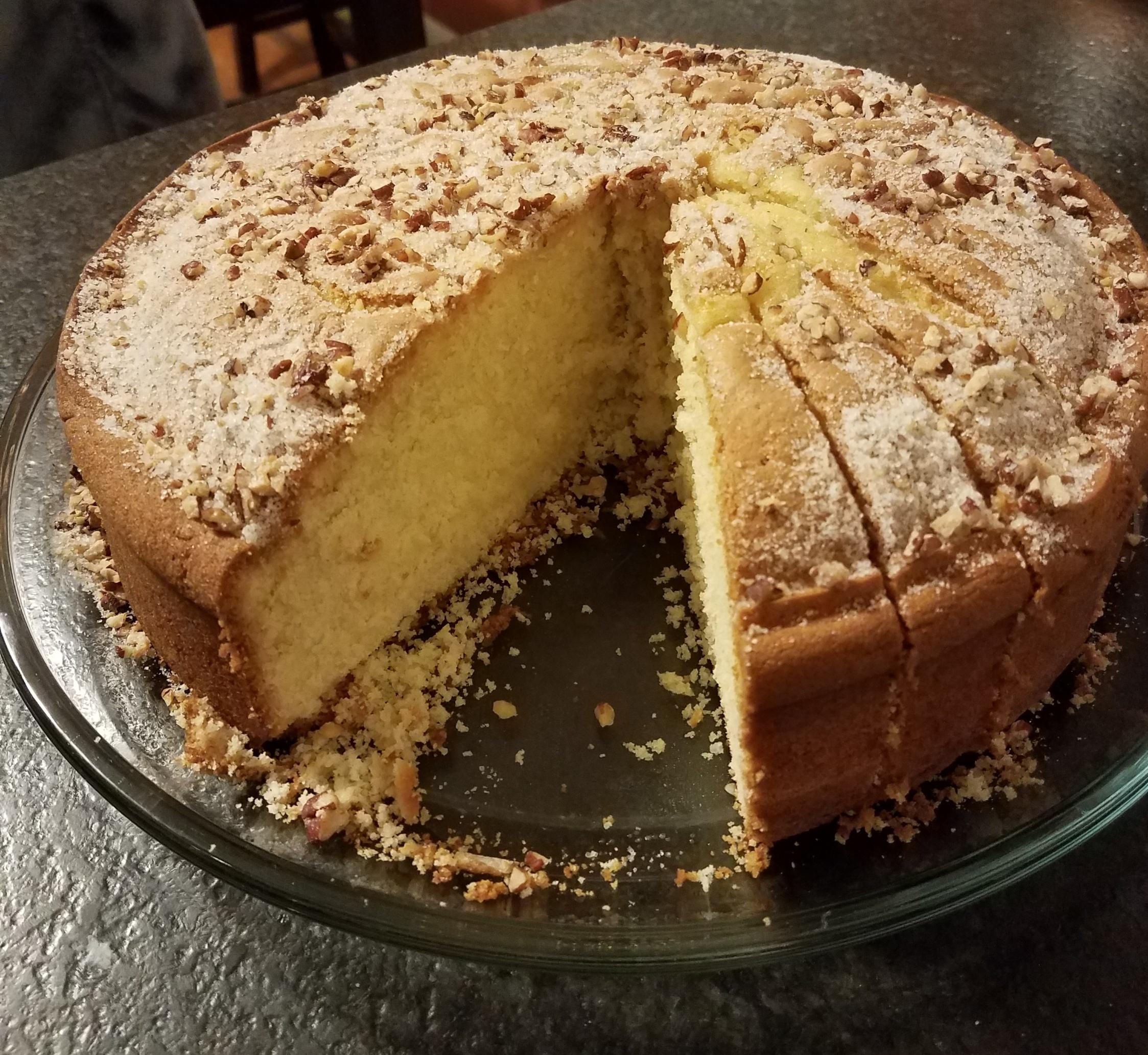 Vaselopita - Greek New Years Cake Debra Manitzas Trueman