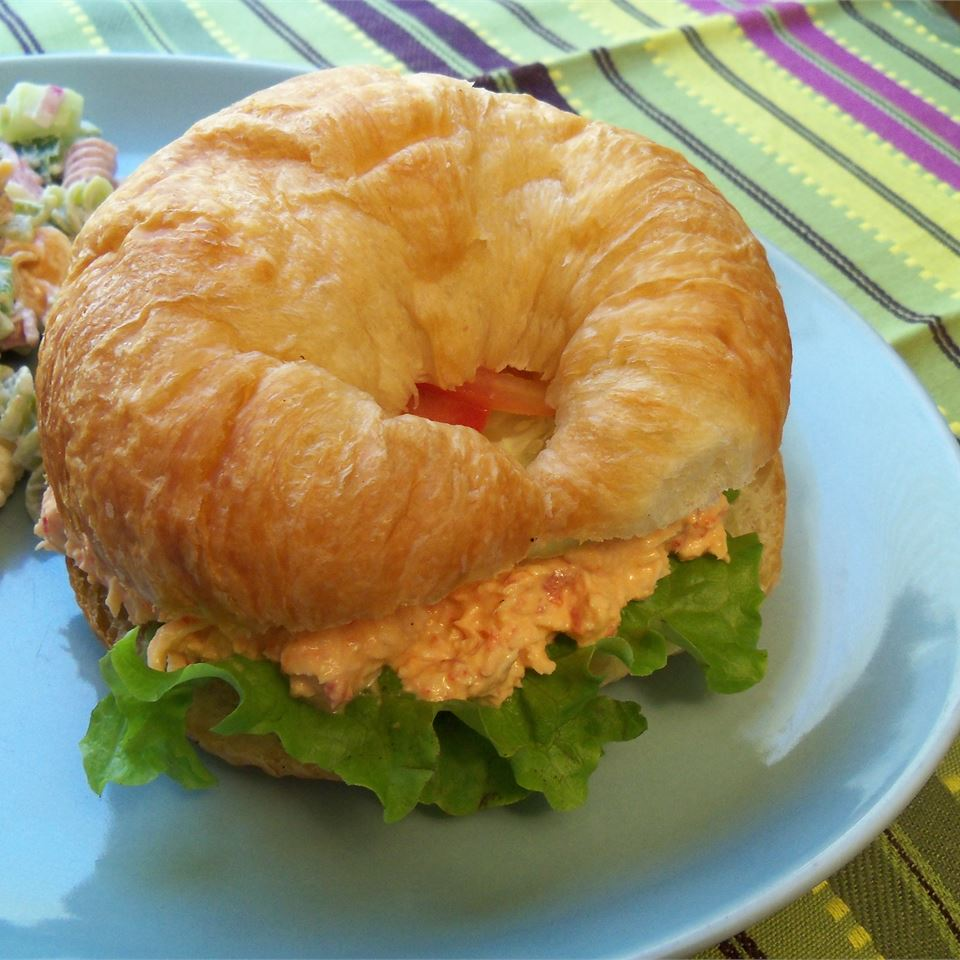 Chicken and Red Bell Pepper Salad Sandwiches Rae