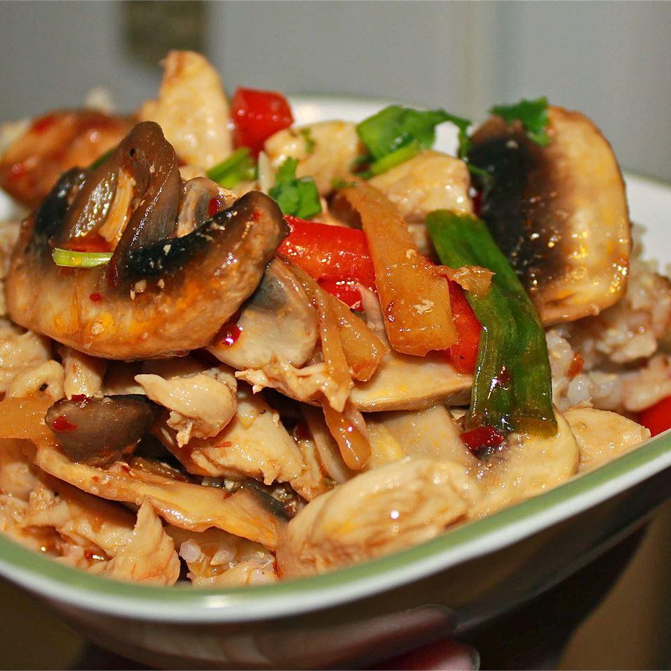 Thai Ginger Chicken (Gai Pad King) Marisa R.