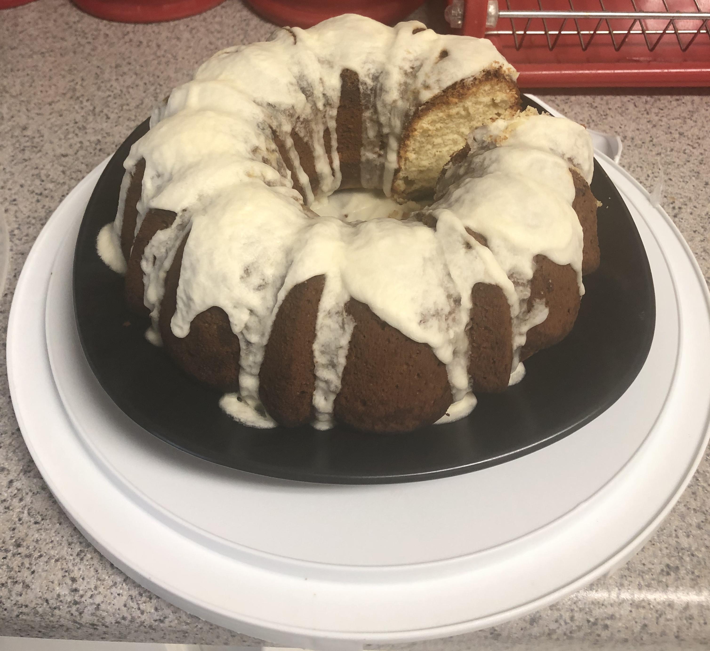Glazed Lemon Supreme Pound Cake Veronica Williams