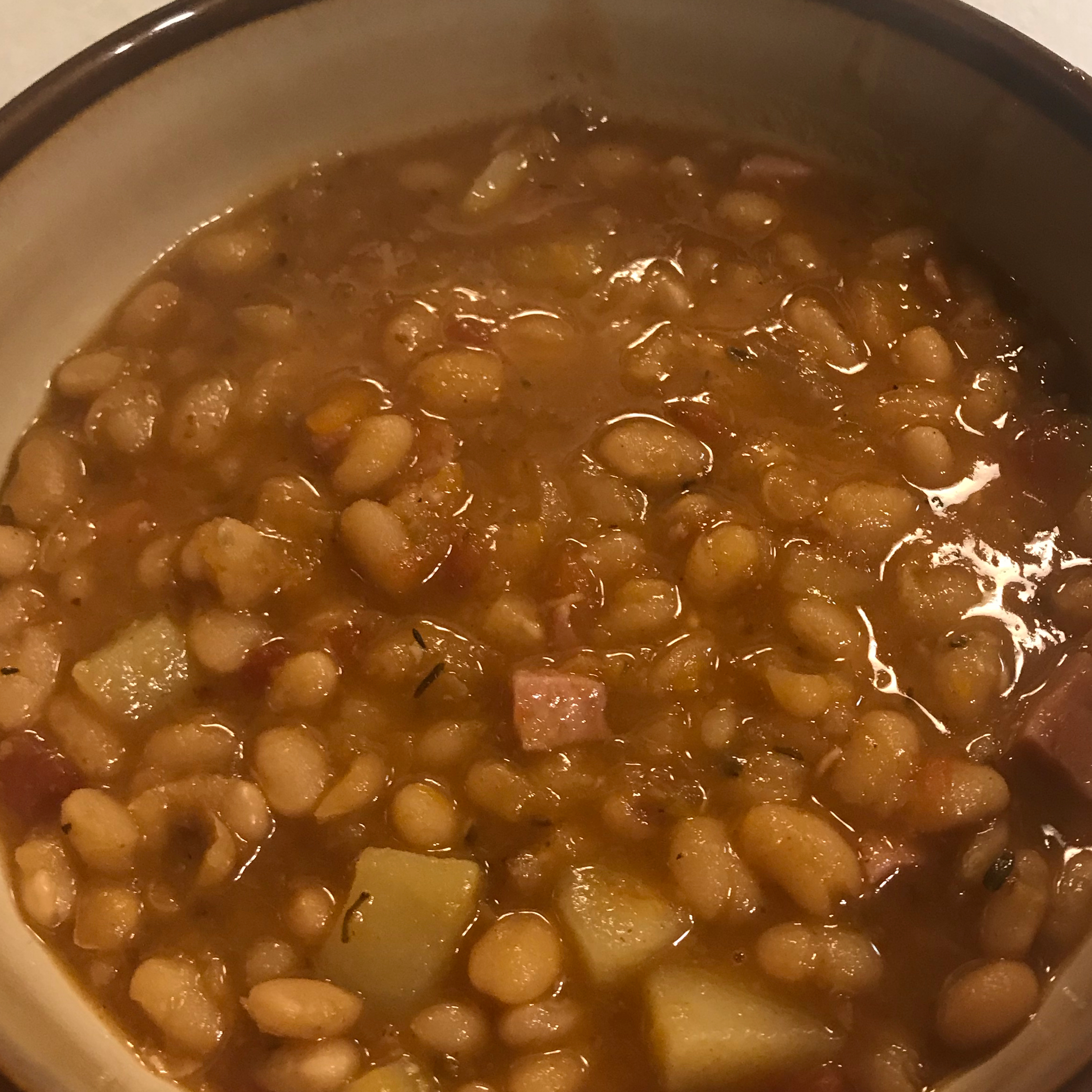 Instant Pot® Navy Bean and Ham Soup Chattyscrapper
