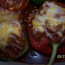 Stuffed Mexican Peppers Jasgirl