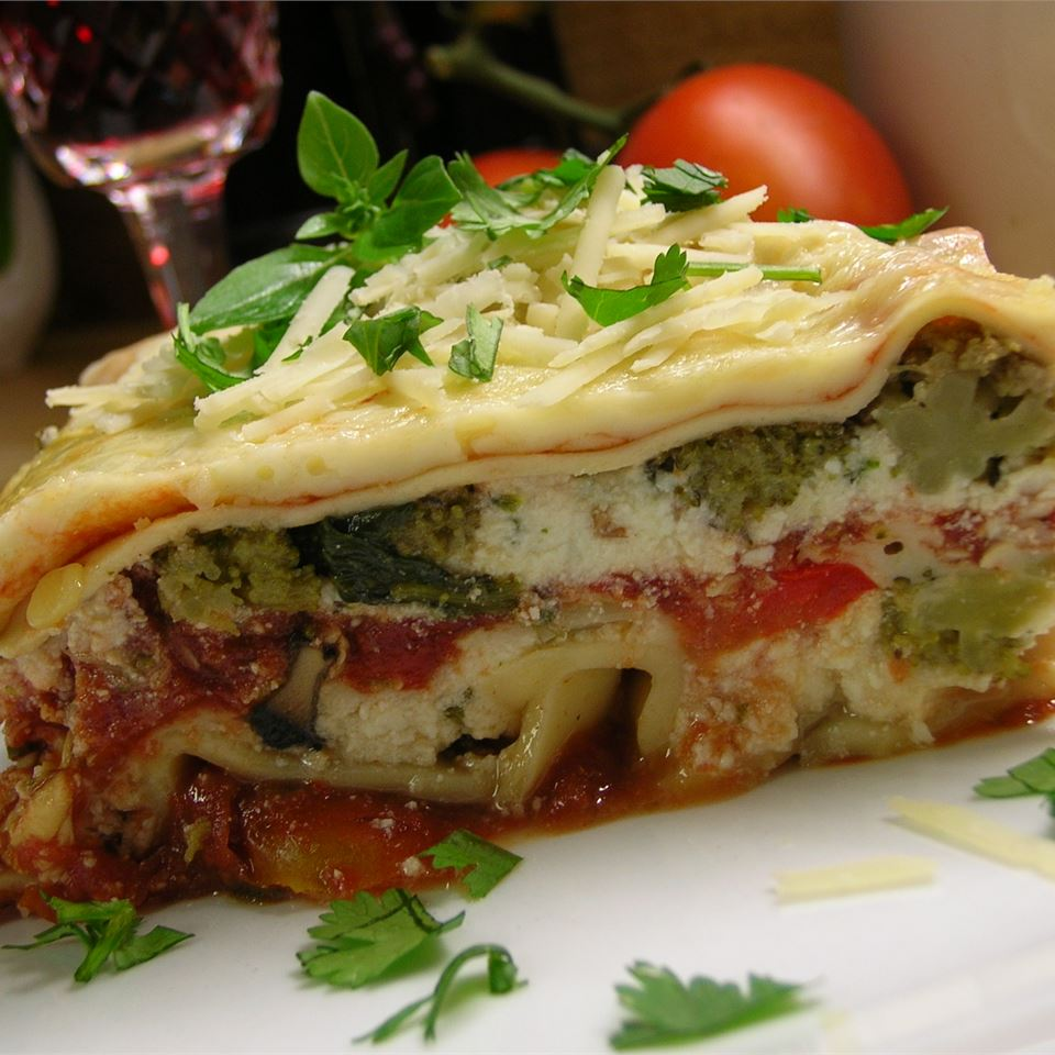 Hearty Vegetable Lasagna Sue