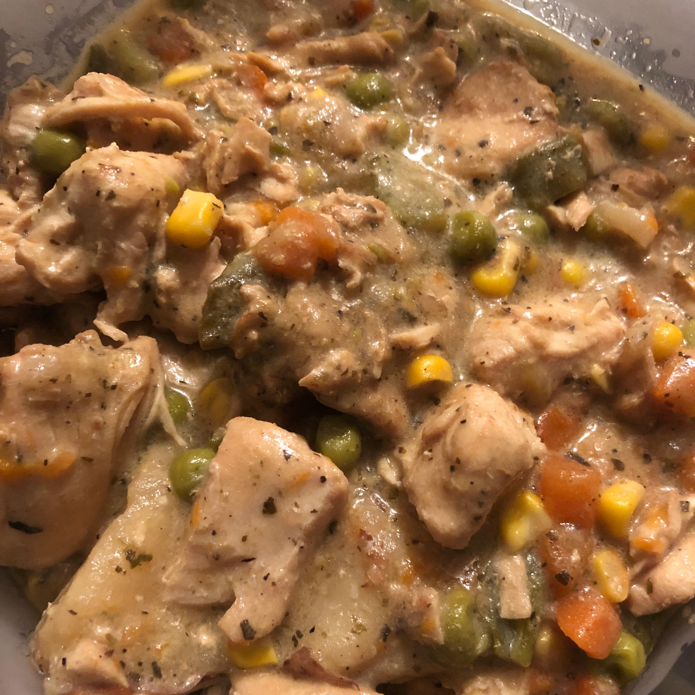 Slow Cooker Chicken Stew Aurelie Strunkey Stevens