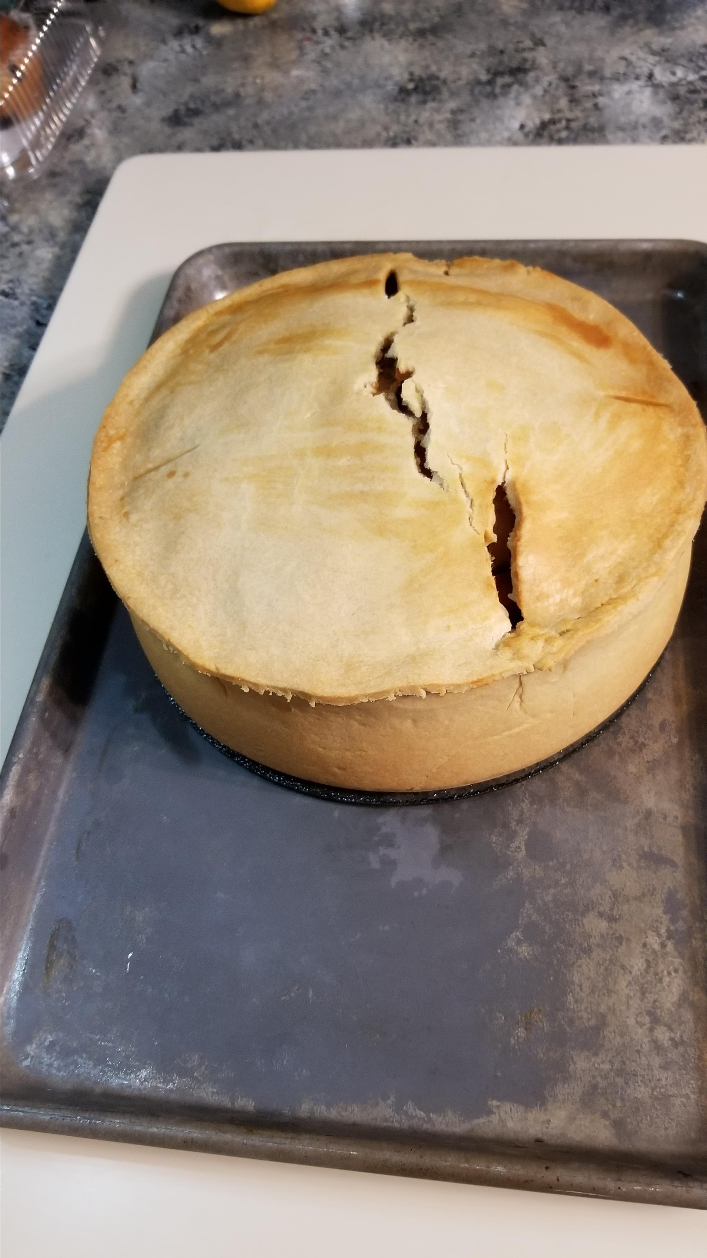 Meat Pie with Hot Water Crust Amy Nyren