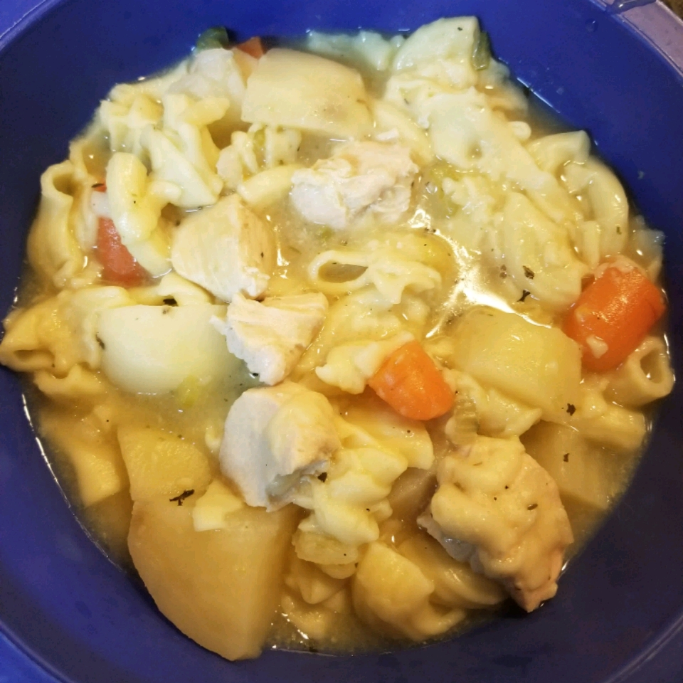 Quick and Easy Chicken Noodle Soup Velma Lee