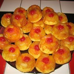 Mini Pineapple Upside-Down Cakes