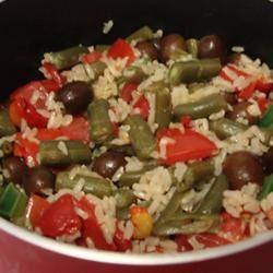 Mediterranean Rice Salad MBKRH