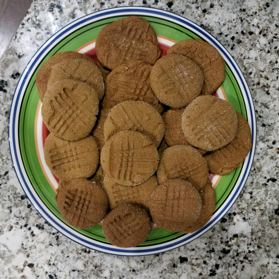 Peanut Butter Molasses Cookies Stephanie Disher