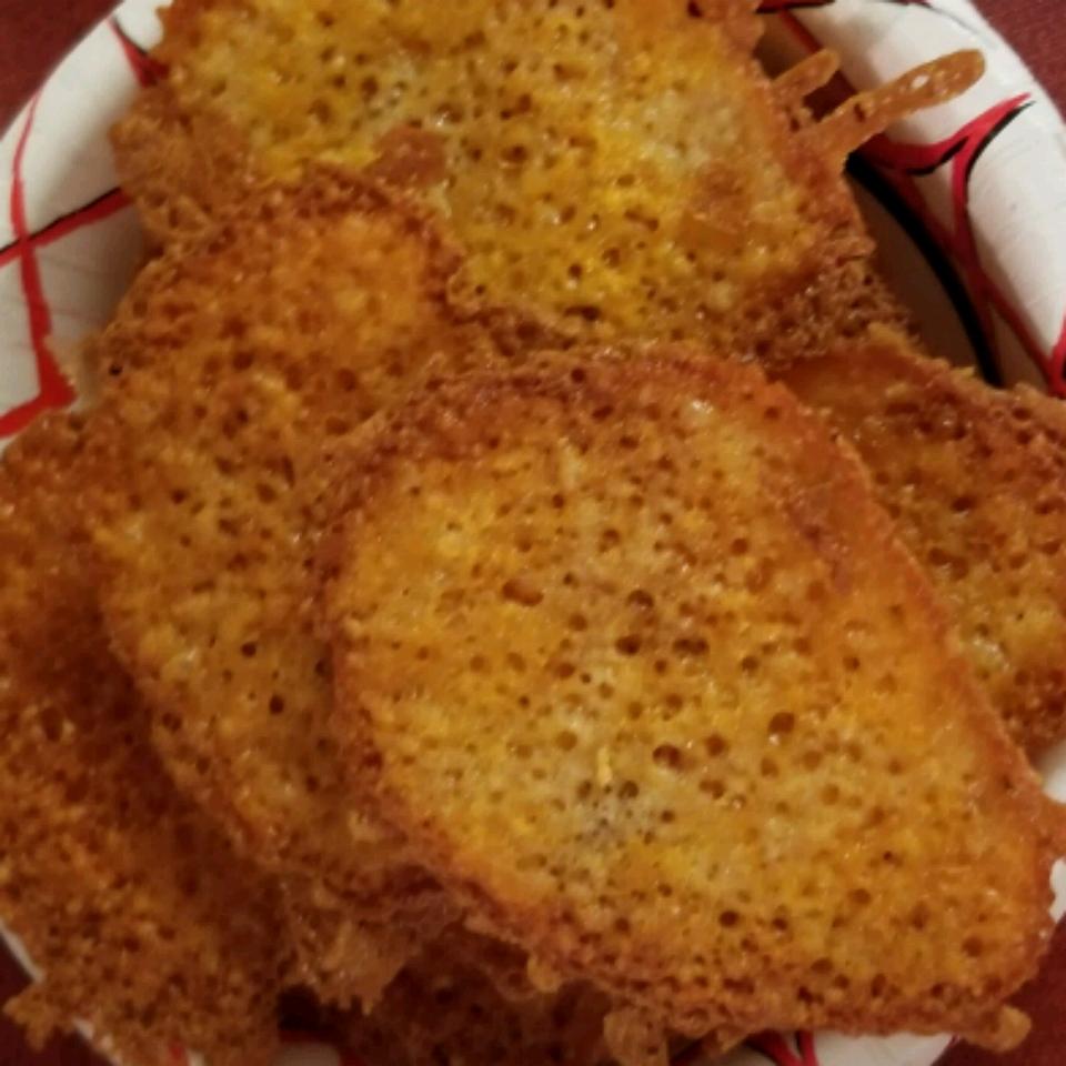 Basic Keto Cheese Crisps
