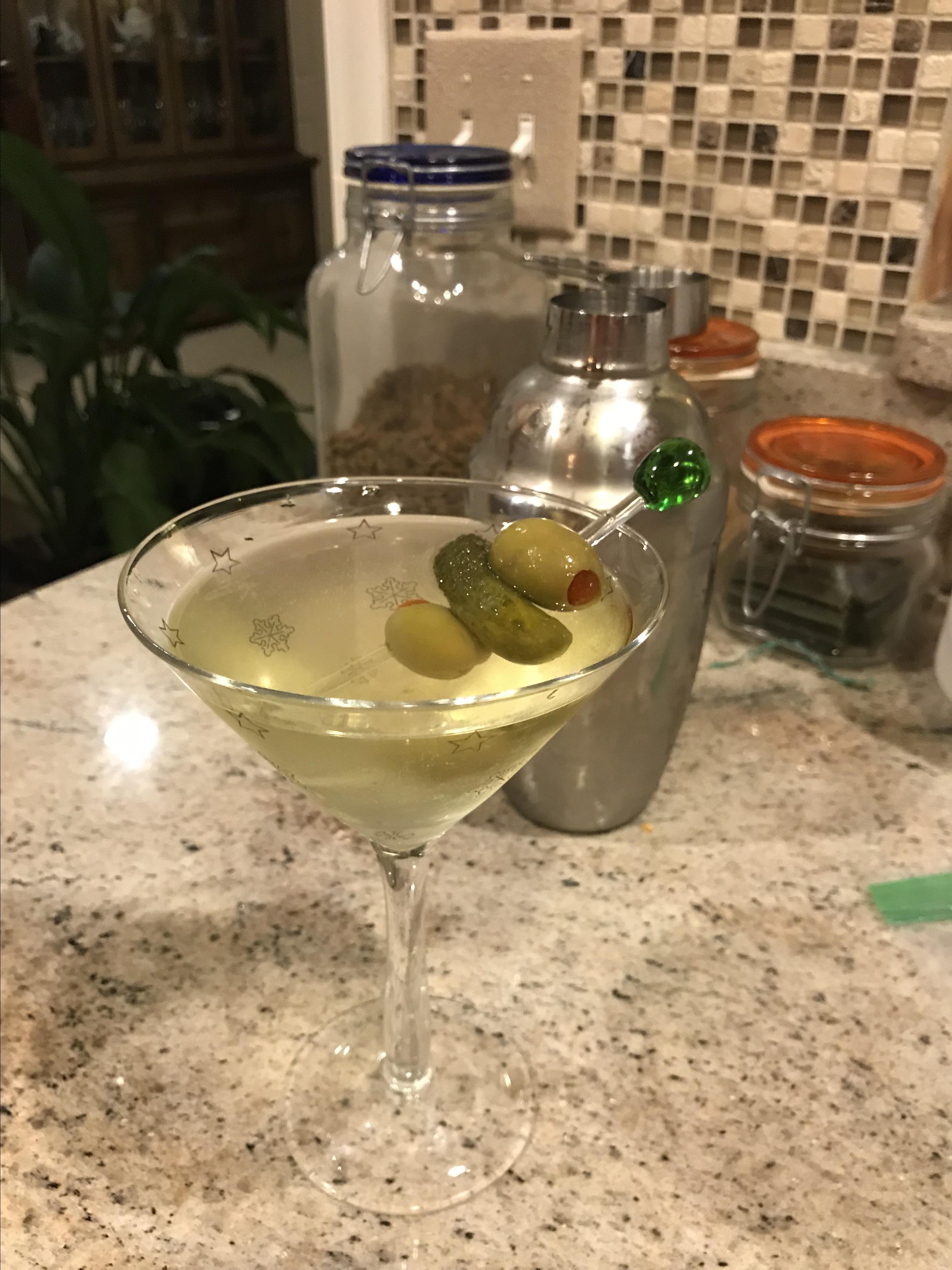 Dill Pickle Martini Lara Furar Knott
