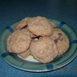Yummy Chocolate Chip Oatmeal Cookies ann