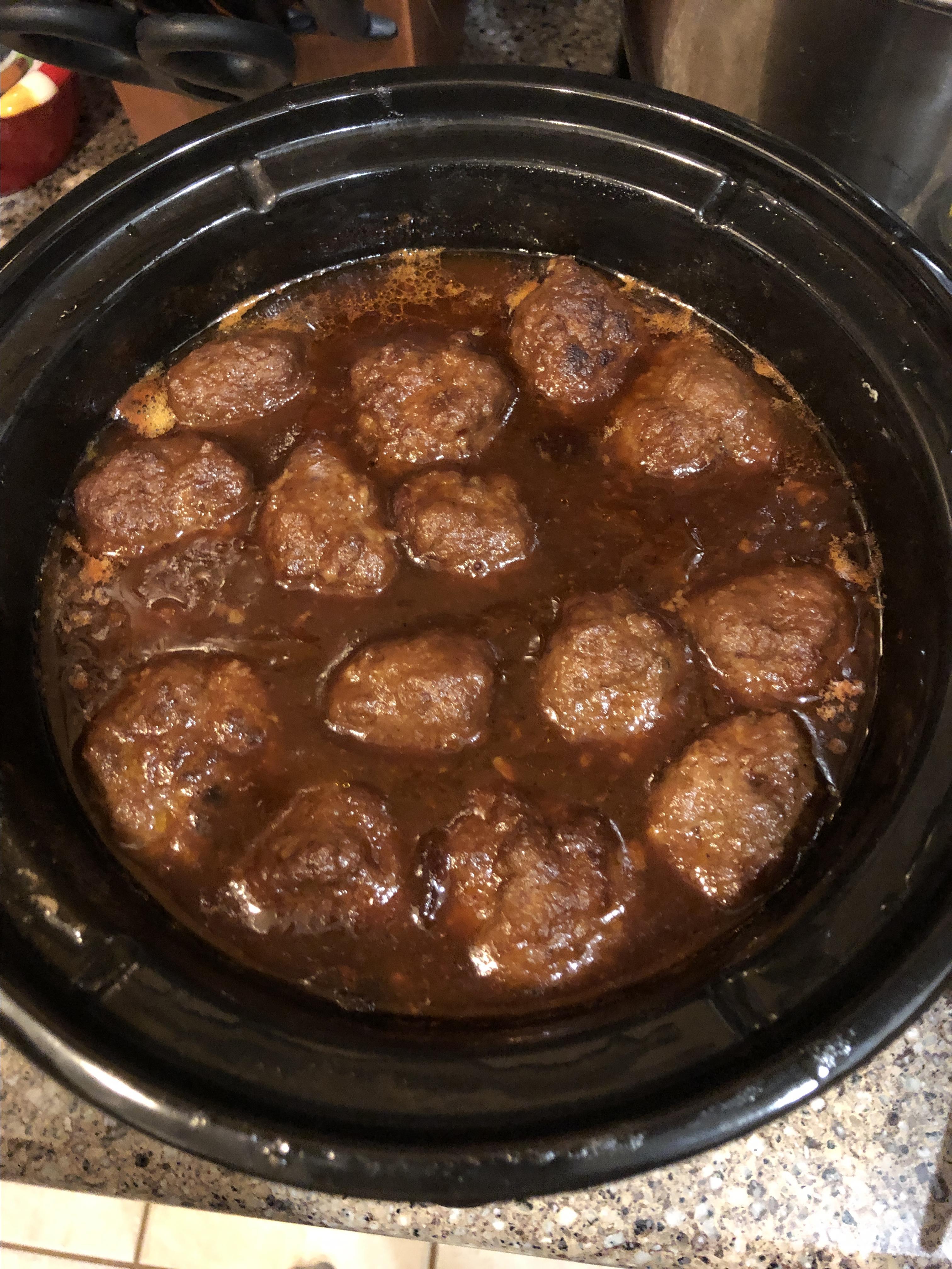 Cranberry Meatballs Bob