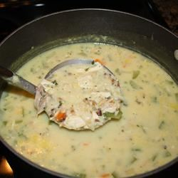 Creamy Chicken and Wild Rice Soup jojosmarty