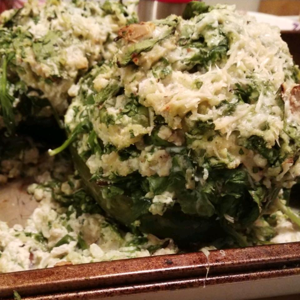 Acorn Squash with Spinach and Ricotta Bridget Enos