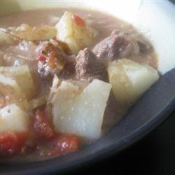 Green Chili Stew mommyluvs2cook