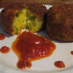 Spinach Arancini (Rice Balls) Amanda Antonmattei Brightbill