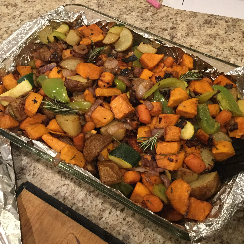 Roasted Vegetables Mikaylie Chevalier Hebbert