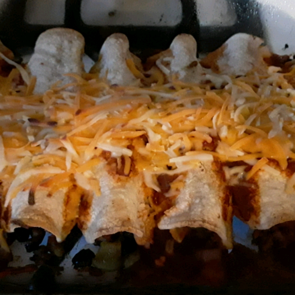 Beef Enchiladas with Homemade Sauce WickedWitch OfTheWest