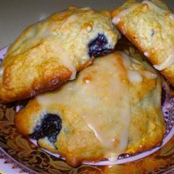 Lemon Blueberry Drop Scones