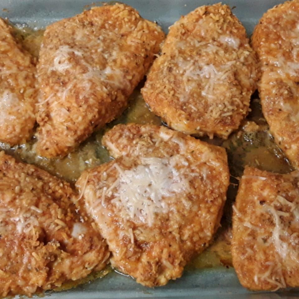 Baked Paprika-Parmesan Chicken