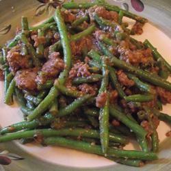 Gel's Green Beans and Beef ~TxCin~ILove2Ck