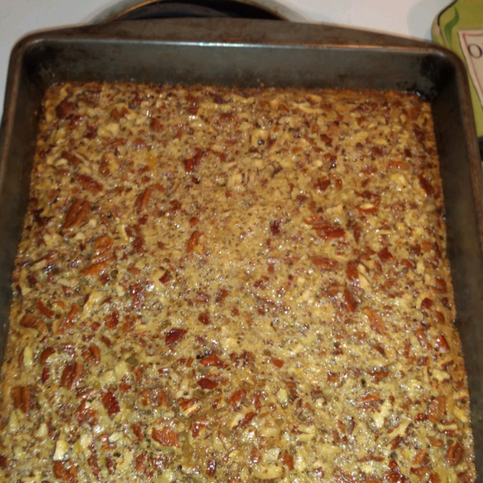 Easy Pecan Pie Bars EVANSDL