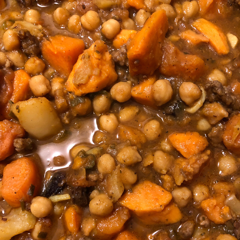 Moroccan Sweet Potato Stew MariaC