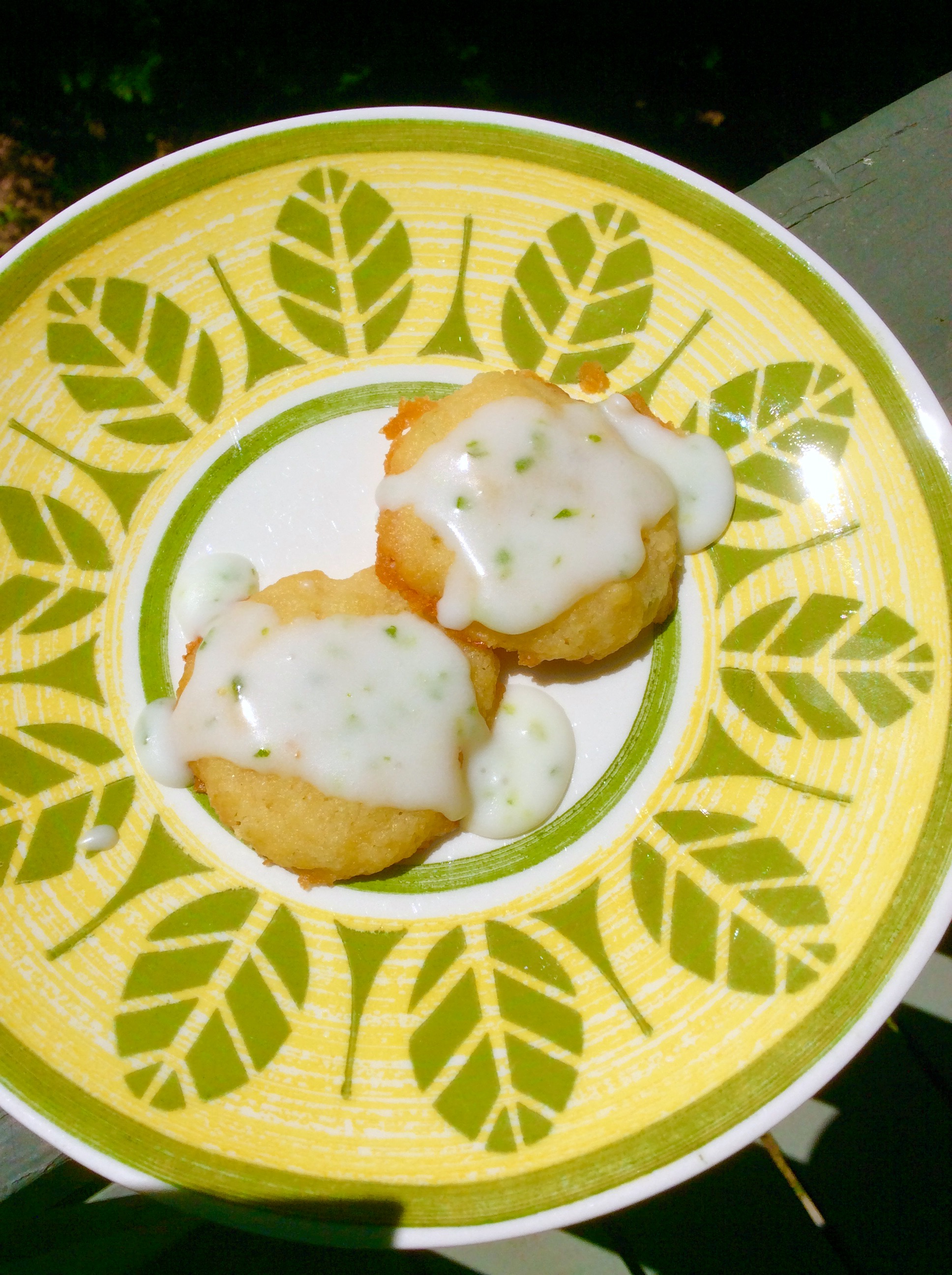Jalapeno-Lime Shortbread Cookies Diane Stone