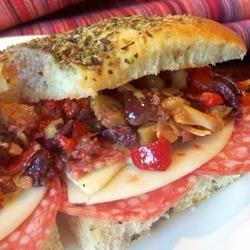 Muffuletta Sandwich Mary48