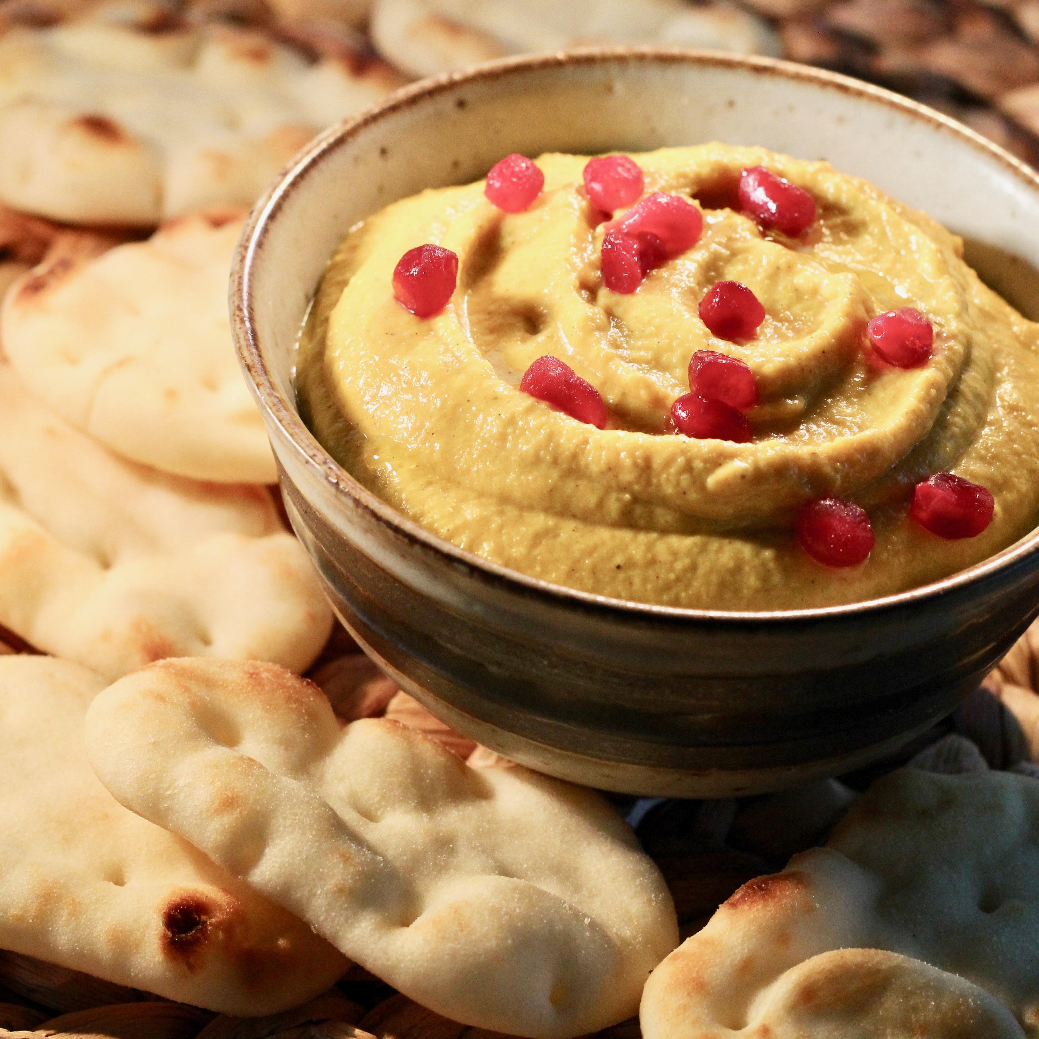 Roasted Golden Beet Hummus