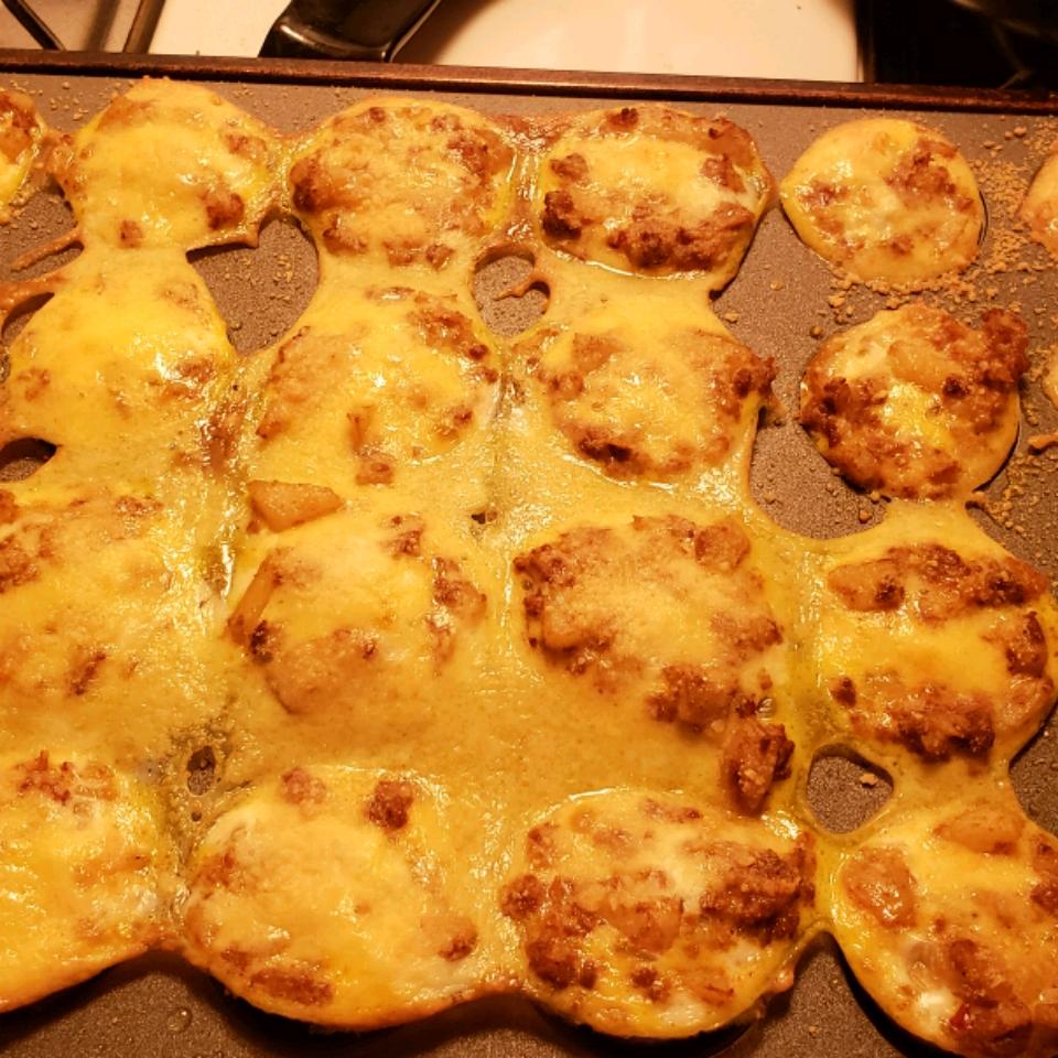 Potato and Chorizo Mini Quiches