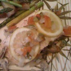 Baked Salmon mittenthekitten