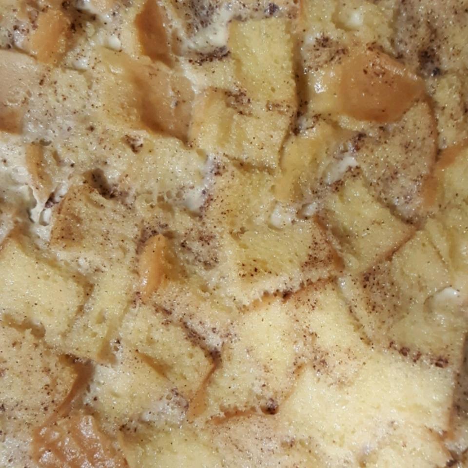 Custard Bread Pudding stargazer lily