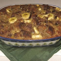 Chocolate Banana Bread Pudding ChristineM