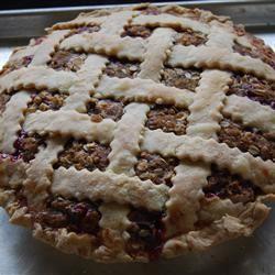 Buffalochef's Strawberry Rhubarb Pie Raine07