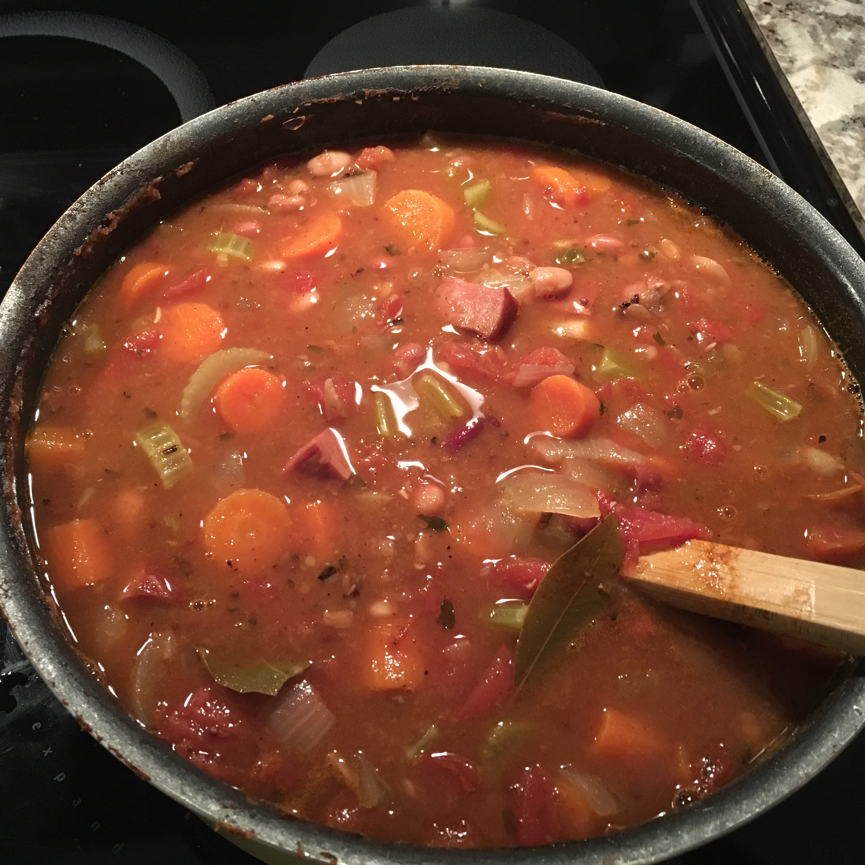 The Best Bean and Ham Soup