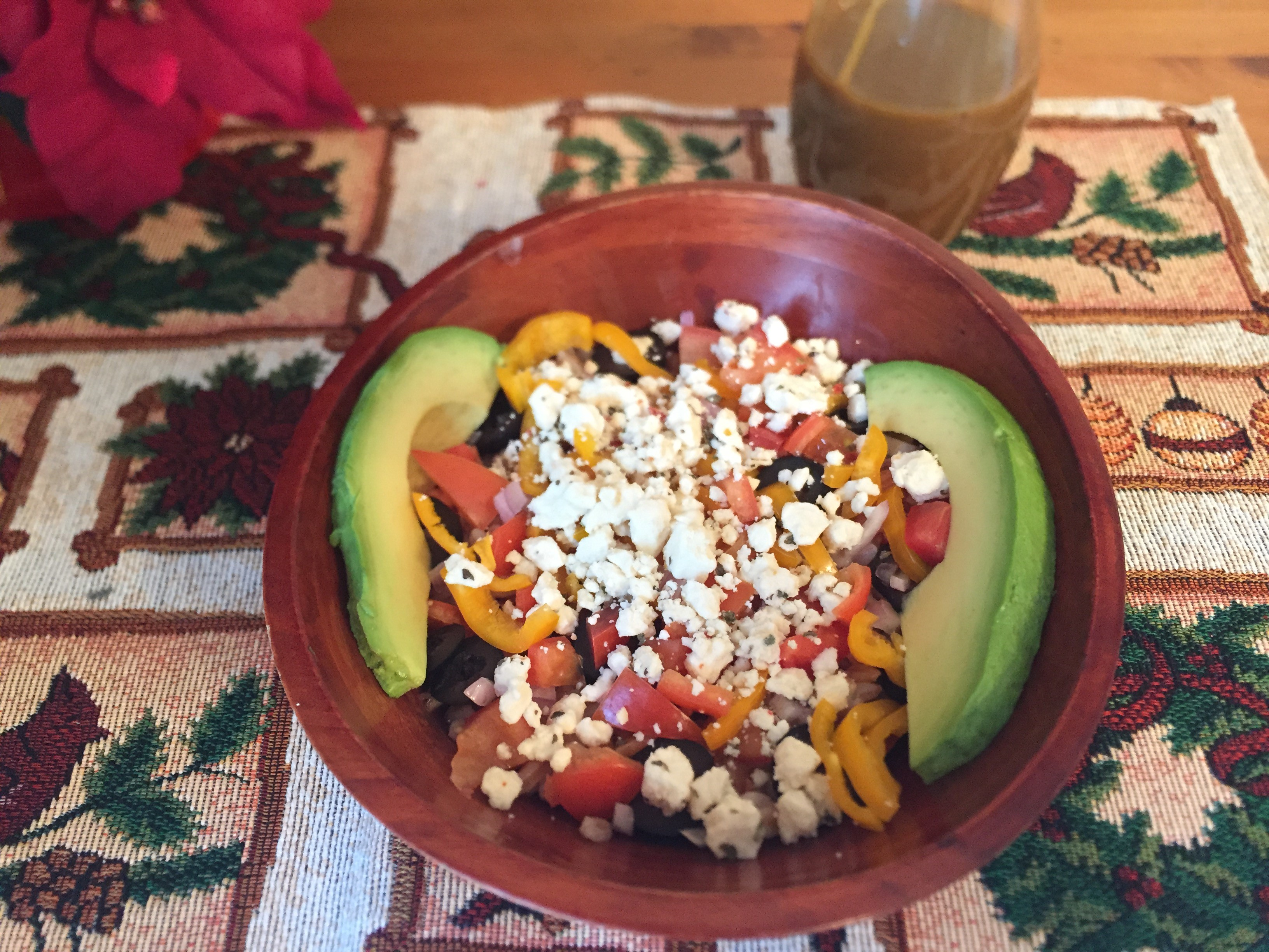 Garden Fresh Farro Bowl with Balsamic Dressing