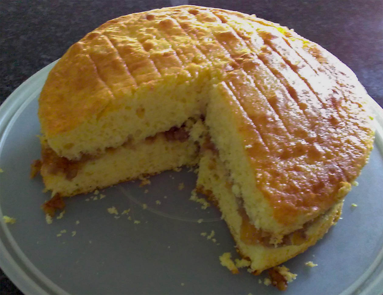 Pineapple Mojo Cake NoobCooks
