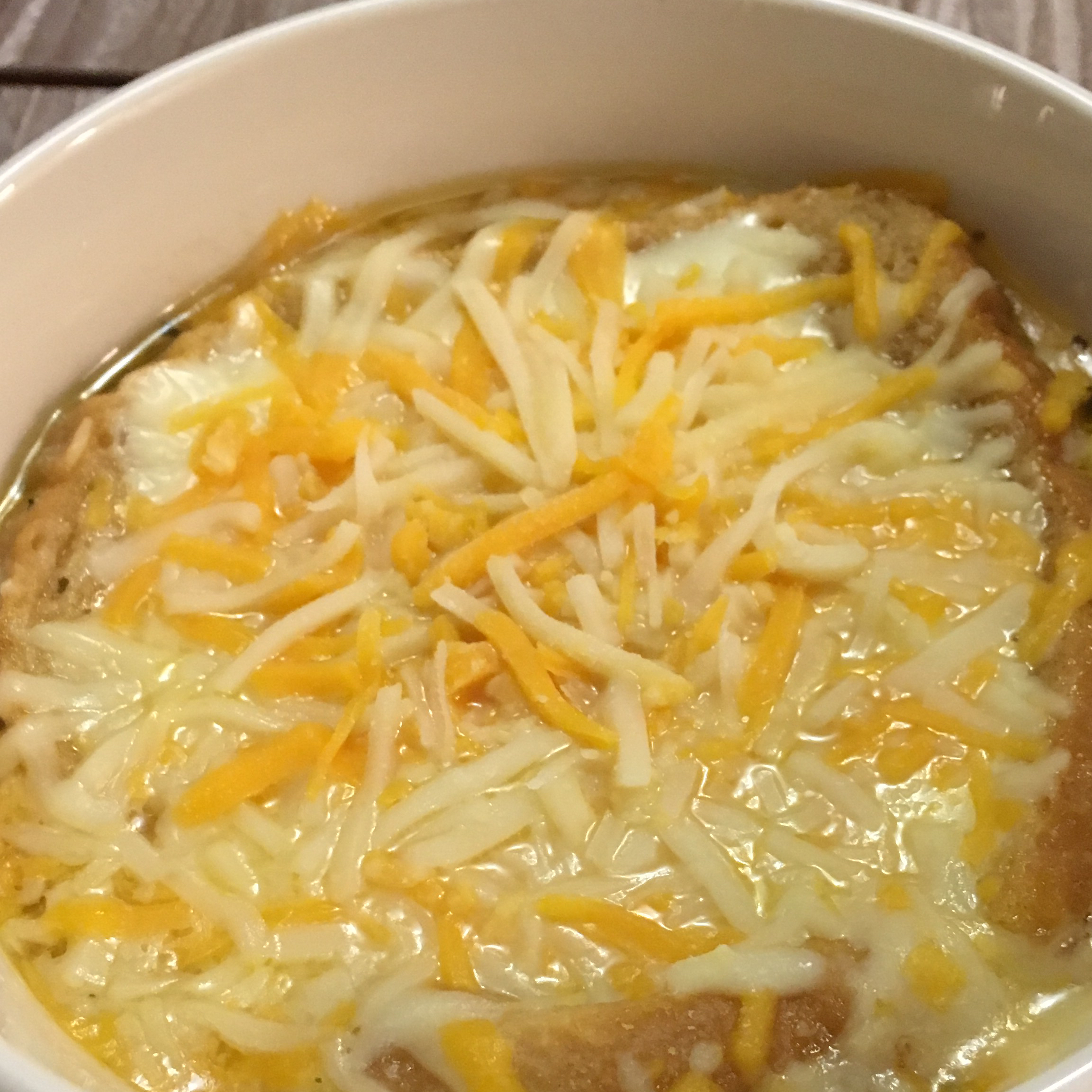 Speedy French Onion Soup Stephanie Marie Arroyo