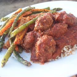 Middle Eastern Cumin Meatballs Sarah-May