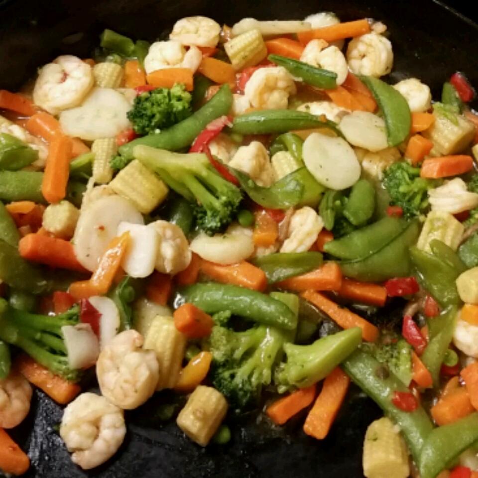 Shrimp Stir-Fry Scott Miller