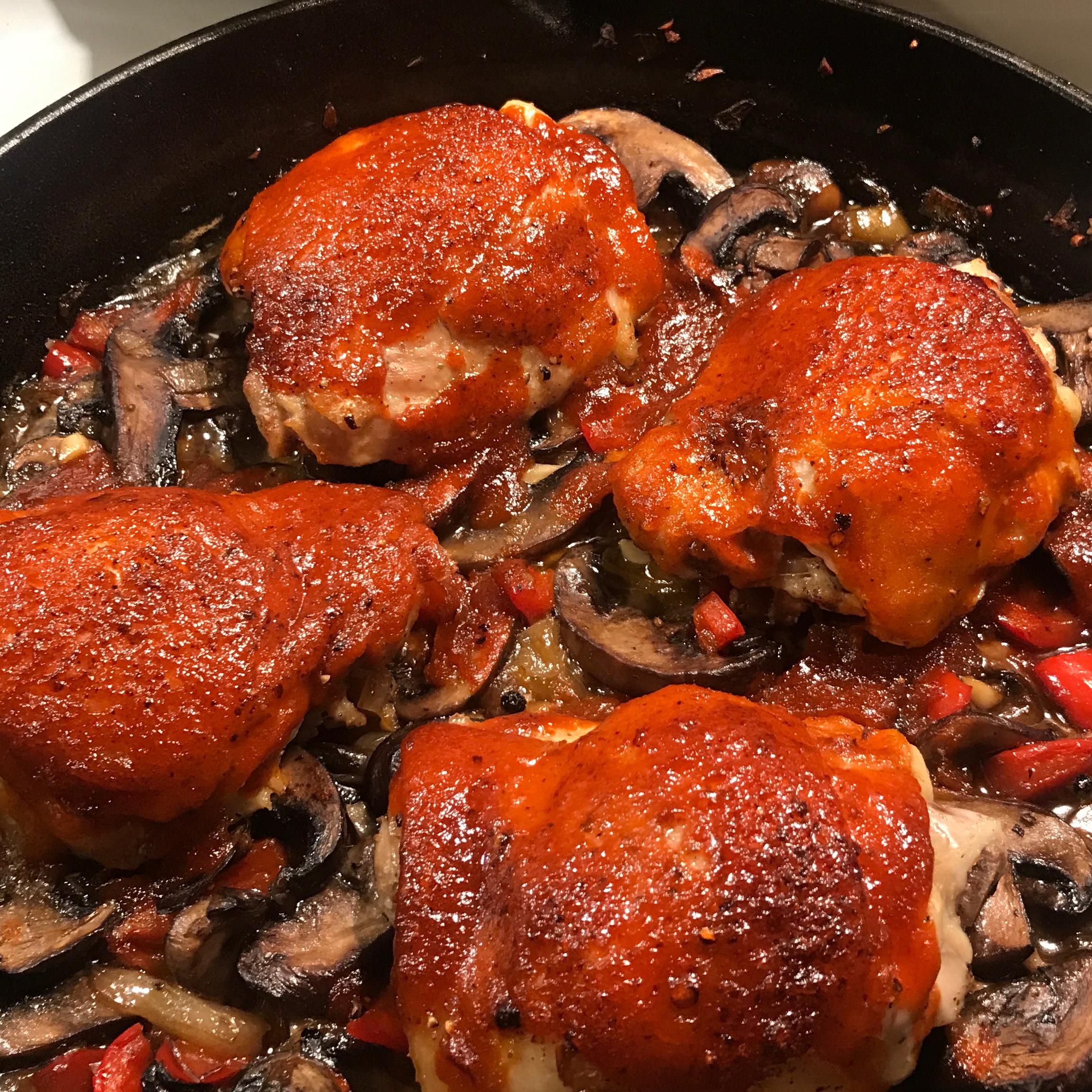 One-Pan Sriracha Chicken and Veggies chef Carr